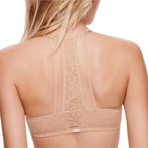 PINK Victoria's Secret T-Shirt Lace Strappy Bra💖